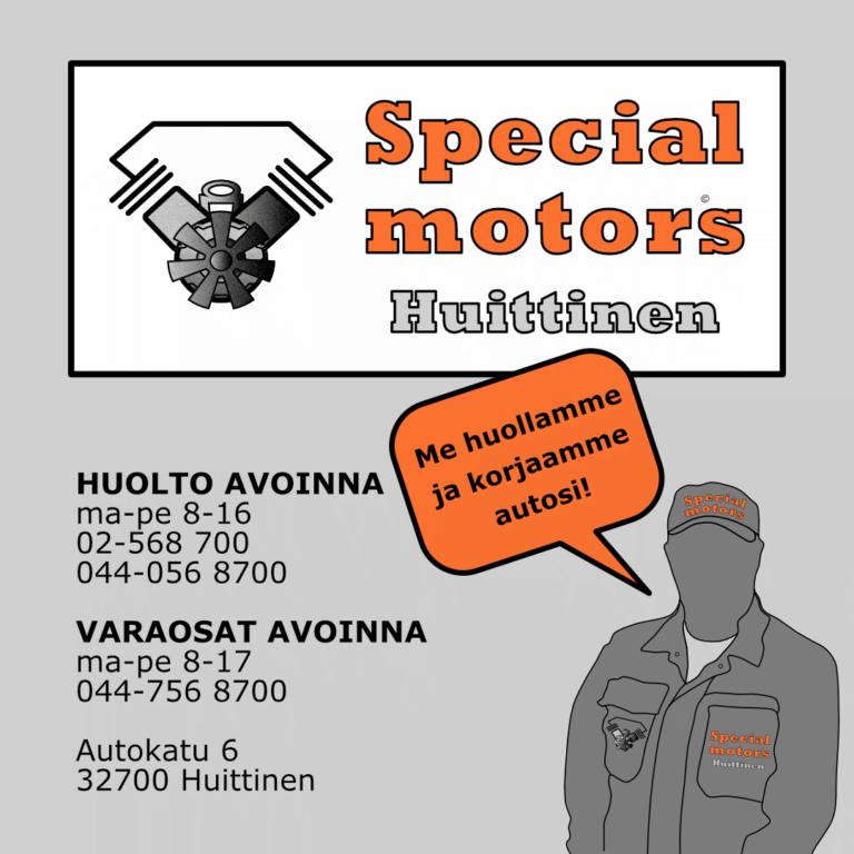 huittisten specialmotors oy yhteystiedot aukioloajat hs-motors.com